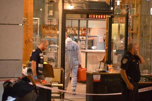 حمله یک فلسطینی مسلح به کافه - رستورانی در شهر تل آویو
