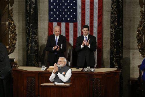 حضور و سخنرانی نارندرا مودی نخست وزیر هند در کنگره آمریکا – واشنگتن