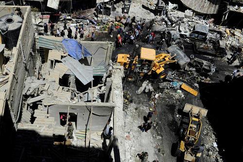 حمله تروریستی داعش در نزدیکی حرم حضرت زینب در دمشق
