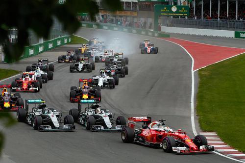 مسابقات اتومبیلرانی جایزه بزرگ فرمول یک در مونترال کانادا