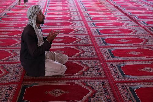 مسجدی در غزنی افغانستان