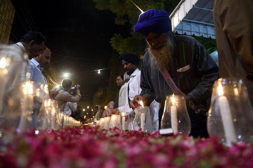 مراسم یادبود قربانیان تیراندازی اورلاندو آمریکا در کراچی پاکستان