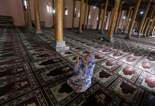 مسجدی در سرینگر کشمیر