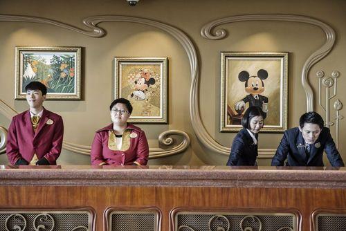 افتتاح هتل 5 ستاه والت دیسنی در دیزنی لند تازه افتتاح شده شهر شانگهای