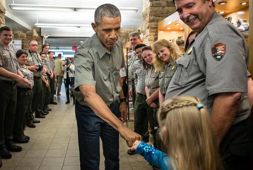 باراک اوباما در مراسم صد سالگی تشکیل پارک های ملی محافظت شده آمریکا – نیو مکزیکو