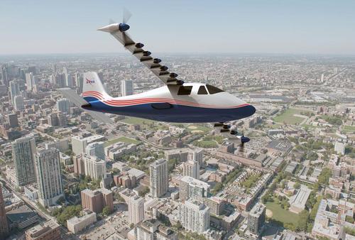 هواپیمای تحقیقاتی جدید طراحی شده از سوی ناسا با نام