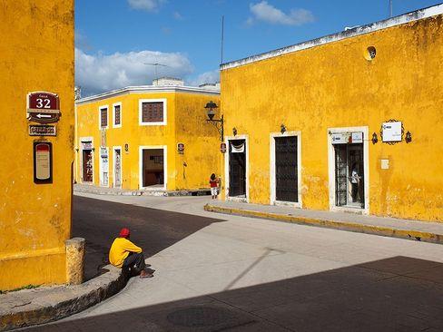 شهر ایزامال مکزیک