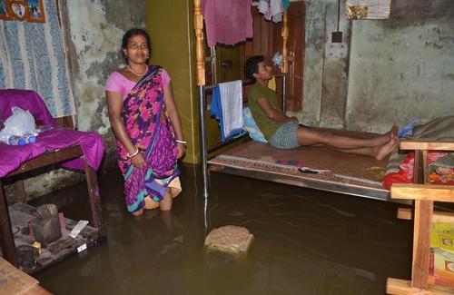 سیلاب در دیامپور هند