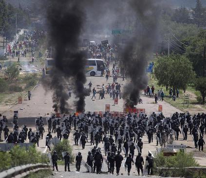 تظاهرات معلمان علیه اصلاح نظام آموزشی – مکزیک