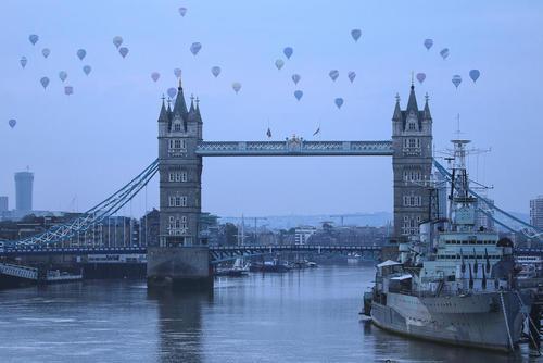 جشنواره بالن در لندن
