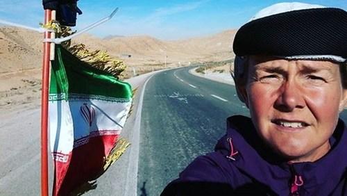 دونده سوئدی در ایران