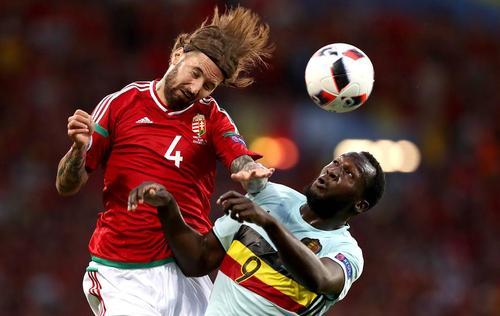 بازی دو تیم فوتبال مجارستان و بلژیک در چارچوب یورو 2016- فرانسه