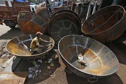 کارخانه تولید ظروف بزرگ - کلکته
