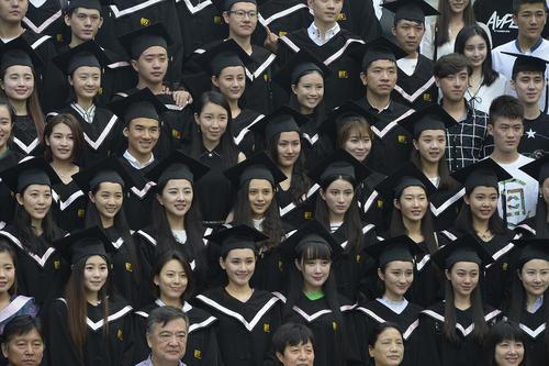 جشن فارغ التحصیلی دانشجویان آکادمی فیلم چین در پکن
