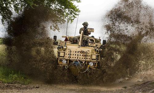 رونمایی از خودروی زرهی تازه ارتش انگلیس