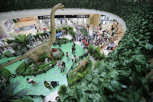 پارک ژوراسیک در تیانجین چین