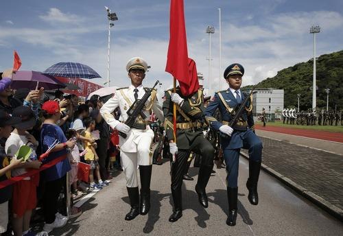 نوزدهمین سالگرد بازگردانده شدن هنگ کنگ به چین