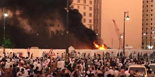 انفجار انتحاری در نزدیکی مجسد النبی در مدینه