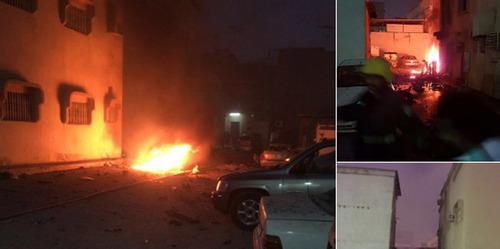 انفجار انتحاری در نزدیکی یک مسجد در شهر شیعه نشین قطیف عربستان سعودی