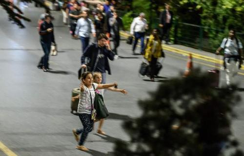 مسافران در فرودگاه اتاتورک
