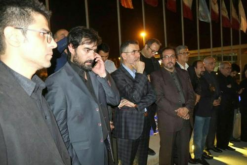 مراسم تشییع عباس کیارستمی فرزندان عباس کیارستمی خانواده عباس کیارستمی بیوگرافی عباس کیارستمی
