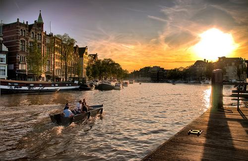 کانال های آمستردام - هلند
