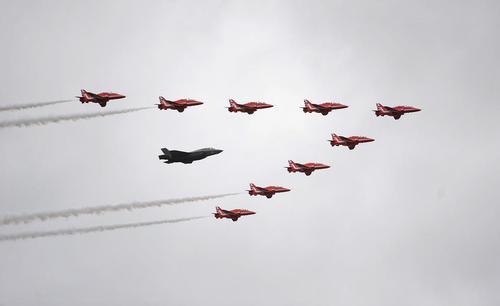 نمایش هوایی- انگلیس