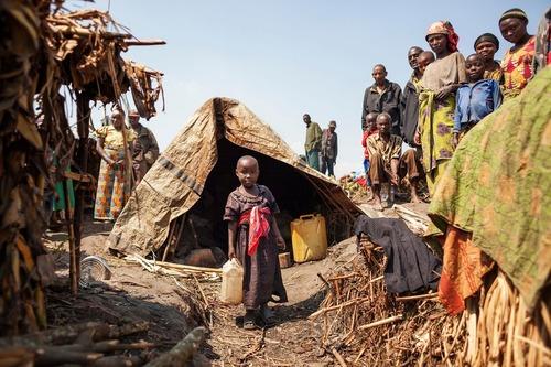 اردوگاه آوارگان جنگی در جمهوری دموکراتیک کنگو