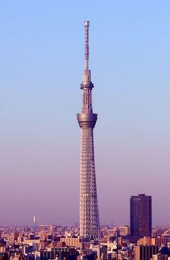برج توکیو اسکایتری ژاپن- ارتفاع برج : 634 متر
