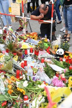 محل حادثه تیراندازی روز جمعه در شهر مونیخ آلمان