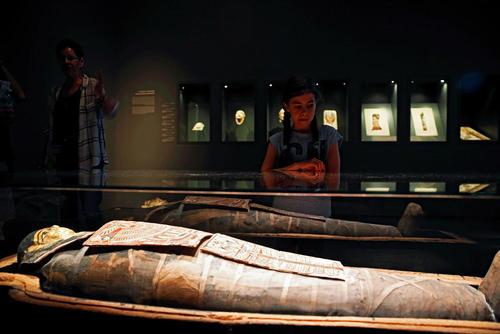 مومیایی 2200 ساله مصری در موزه ای در شهر قدس