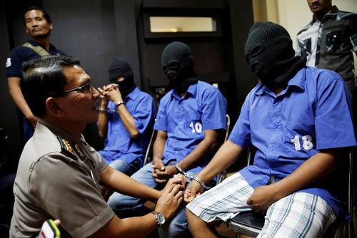 دستگیری یک باند مواد مخدر در جاکارتا اندونزی