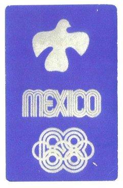 کبوتر صلح اولین لوگوی المپیک بود. مکزیک میزبان این رقابتها در سال ۱۹۶۸ بود.