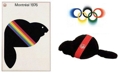 المپیک ۱۹۷۶ مونترال لوگویی به نام آمیک داشت.