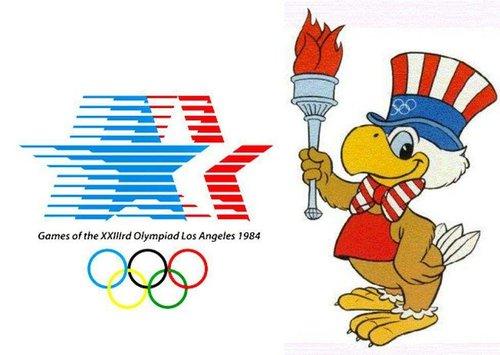 المپیک ۱۹۸۴ لوس آنجلس لوگویی به نام سم داشت.