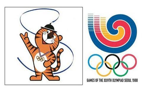 هودوری نام لوگو بازیهای ۱۹۸۸ سئول بود.