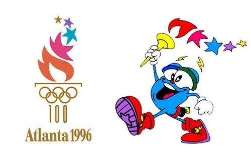 لوگو بازیهای ۱۹۹۶ آتلانتا ایزی نام داشت.