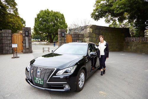 تاکسی سیاه توکیو- ژاپن