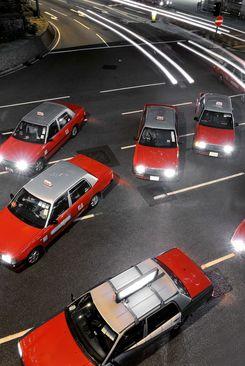 تاکسی قرمز های هنگ کونگ