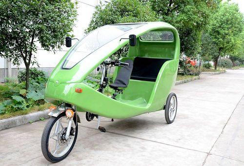 دوچرخه برقی تاکسی در مکزیکو سیتی-  مکزیک