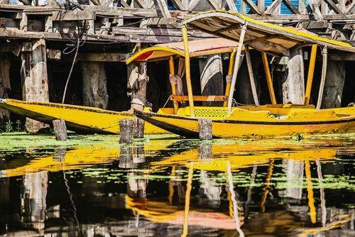 شیکارا، یک نوع قایق تاکسی در کشمیر هند