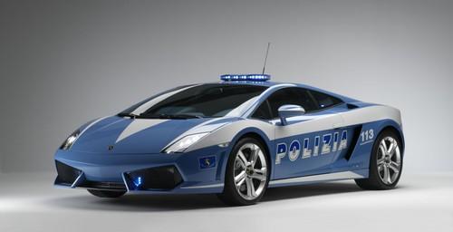 لامبورگینی گالاردو LP560-4 با سرعت 326 کیلومتر در ساعت- پلیس ایتالیا