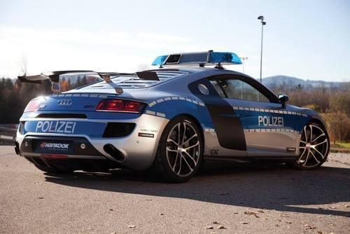 آئودی R8 GTR با سرعت 325 کیلومتر در ساعت- پلیس آلمان