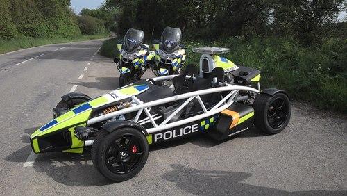 آریل اتم با سرعت 270 کیلومتر در ساعت- پلیس انگلیس