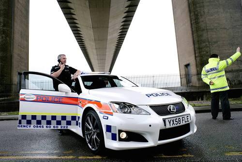 لکسوس IS-F با سرعت 270 کیلومتر در ساعت- پلیس انگلیس