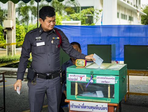 رفراندوم تغییر قانون اساسی در تایلند