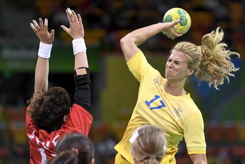 مسابقه هند بال بین دو تیم ملی سوئد و کره جنوبی – المپیک ریو