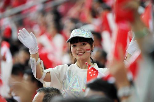 جشن روز ملی سنگاپور در استادیوم اصلی این دولت – شهر