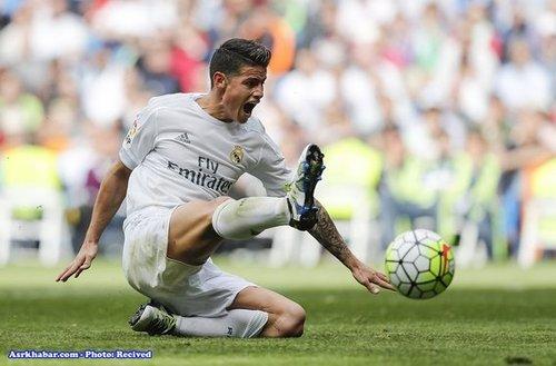جیمز رودریگرز بازیکن کلمبیایی که رئال مادرید برایش 63 میلیون یورو پرداخت کرده است