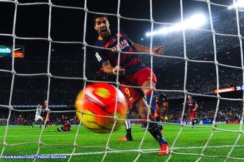 لوئیس سوارز، بازیکن اروگوئه ای که بارسلونا برایش 75 میلیون یورو پرداخت کرده است.